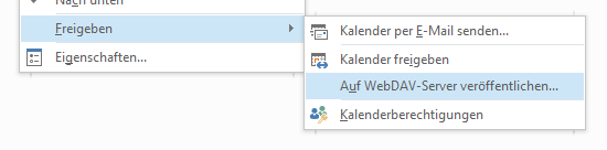 WebDAV-Freigabe